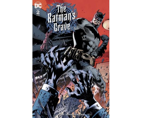 Batmans Grave #2 Cover A Regular Bryan Hitch Cover