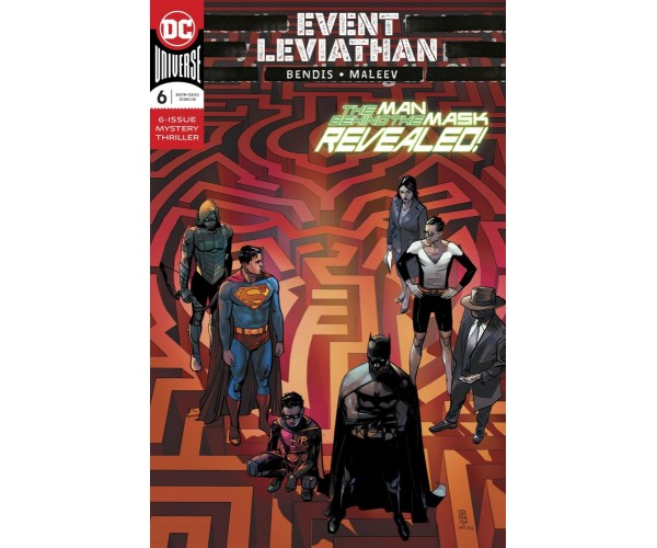 Event Leviathan #6 Cover A Regular Alex Maleev Cover