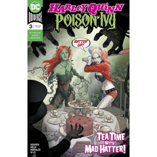 Harley Quinn And Poison Ivy #3 Cover A Regular Mikel Janin Cover