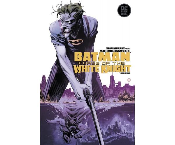 Batman Curse Of The White Knight #5 Cover A Regular Sean Murphy Cover