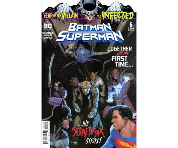 Batman Superman Vol 2 #5 Cover A Regular David Marquez Cover (Year Of The Villain Hell Arisen Prelude)