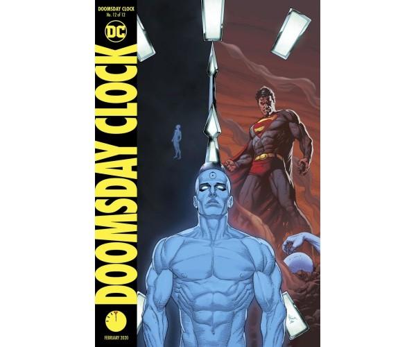 Doomsday Clock #12 Cover B Variant Gary Frank Cover