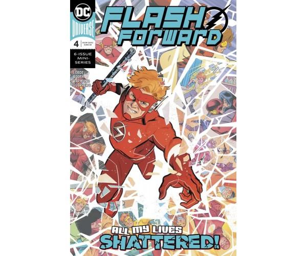 Flash Forward #4 Cover A Regular Evan Doc Shaner Cover