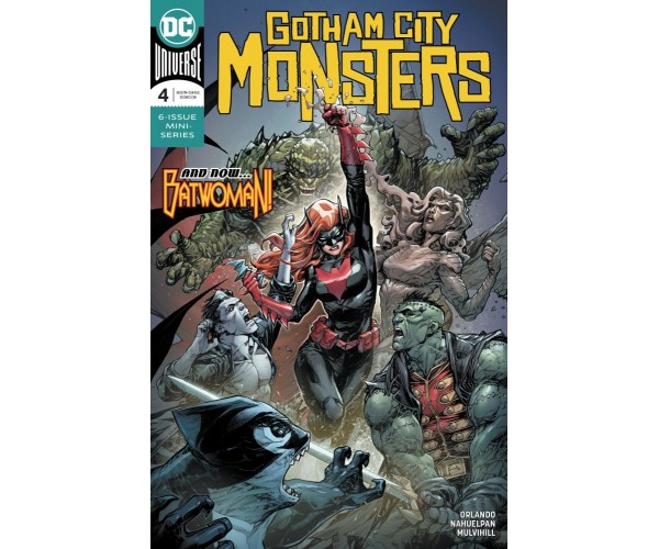 Gotham City Monsters #4