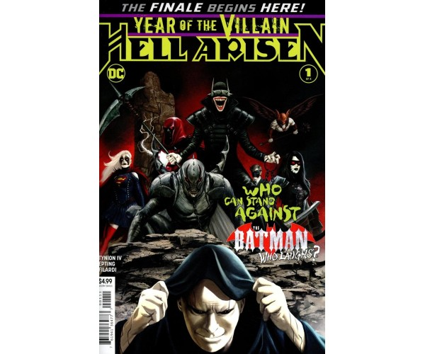 Year Of The Villain Hell Arisen #1 Cover A Regular Steve Epting Cover