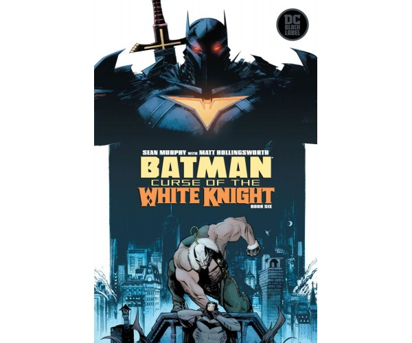 Batman Curse Of The White Knight #6 Cover A Regular Sean Murphy Cover