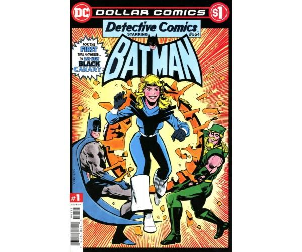 Dollar Comics Detective Comics #554