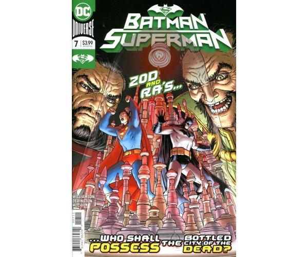 Batman Superman Vol 2 #7 Cover A Regular Nick Derington Cover