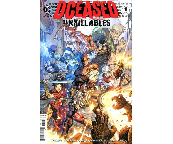 DCeased Unkillables #1 Cover A Regular Howard Porter Cover