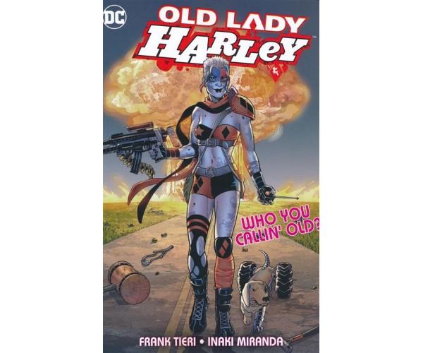 Old Lady Harley TP