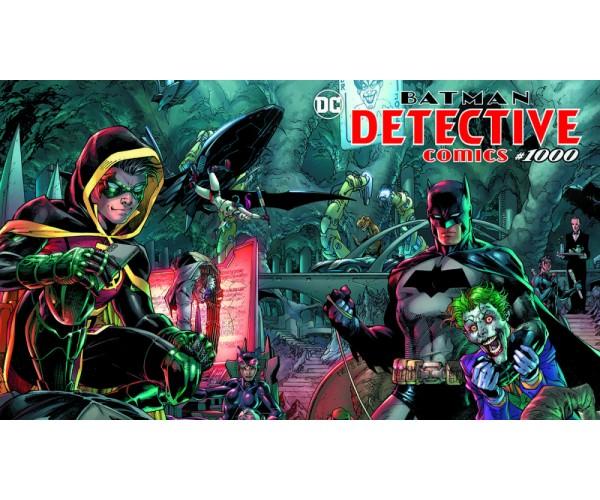 Detective Comics Vol 2 #1000 Cover A Regular Jim Lee & Scott Williams Wraparound Cover