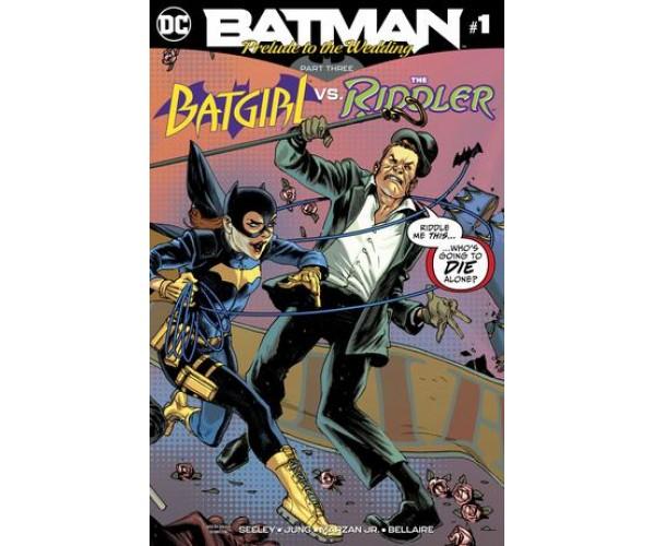 Batman Prelude To The Wedding Batgirl vs Riddler #1
