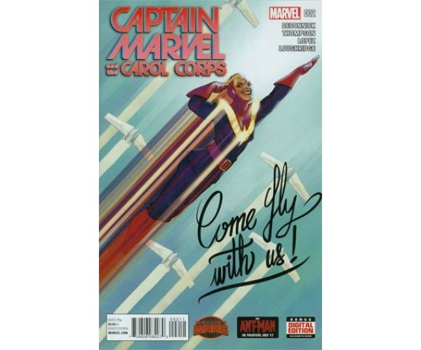 Captain Marvel And The Carol Corps #2 Cover A Regular David Lopez Cover (Secret Wars Warzones Tie-In)