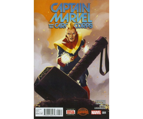 Captain Marvel And The Carol Corps #4 (Secret Wars Warzones Tie-In)