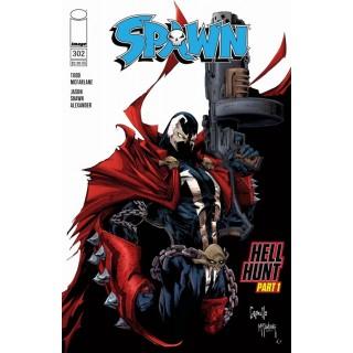 Spawn #302 Cover A Regular Greg Capullo & Todd McFarlane Color Cover