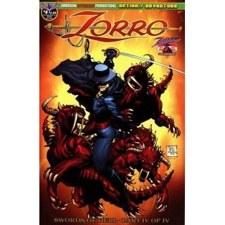 Zorro Swords Of Hell #4 Cover A Regular Roy Allen Martinez Cover