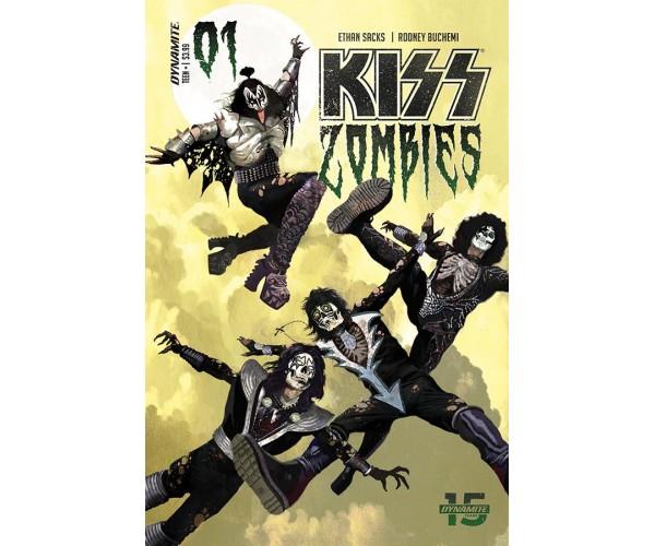 KISS Zombies #1 Cover A Regular Arthur Suydam Cover