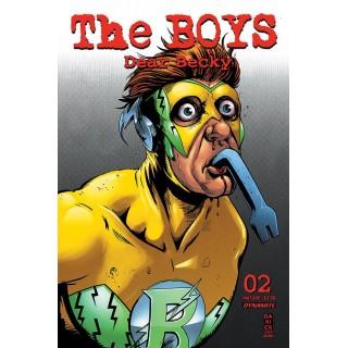 Boys Dear Becky #2 Regular Darick Robertson Cover