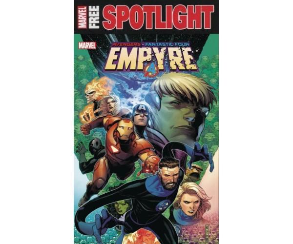 Empyre # 1 Jim Cheung Main Cover 1st Print Spotlight