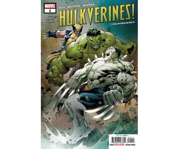Hulkverines #1 Cover A Regular Greg Land & Frank DArmata Cover