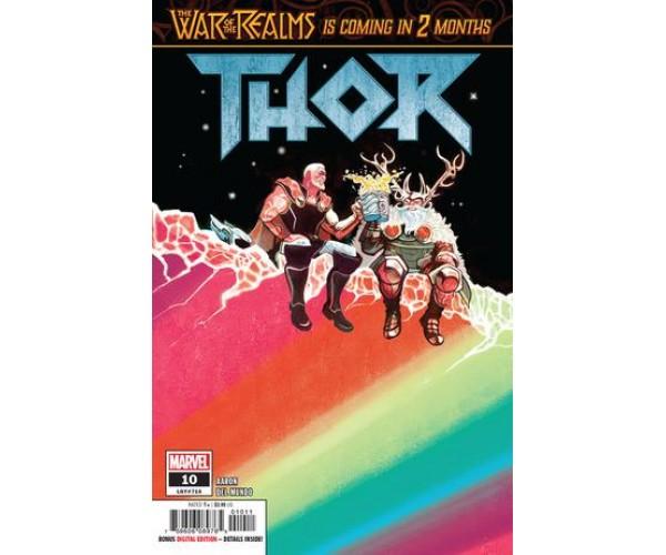 Thor Vol 5 #10 Cover A Regular Mike Del Mundo Cover