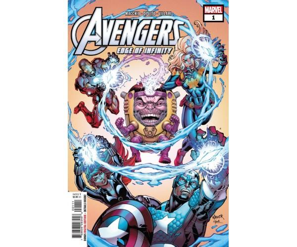 Avengers Edge Of Infinity #1 Cover A Regular Todd Nauck Cover