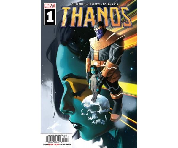 Thanos Vol 3 #1 Cover A Regular Jeff Dekal Cover