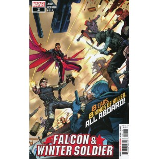 Falcon & Winter Soldier #2 Cover A Regular Dan Mora Cover