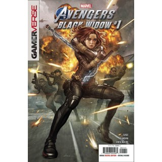 Marvels Avengers Black Widow #1 Cover A Regular Stonehouse Cover