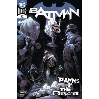 Batman Vol 3 #92 Cover A Regular Yasmine Putri Cover
