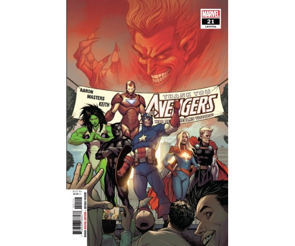 Avengers Vol 7 #21 Cover A 1st Ptg Regular Stefano Caselli Cover