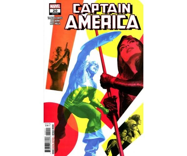 Captain America Vol 9 #20 Cover A Regular Alex Ross Cover
