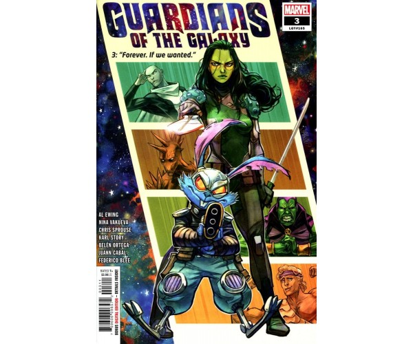 Guardians Of The Galaxy Vol 6 #3 Cover A Regular Ivan Shavrin Cover