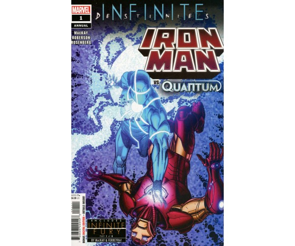 Iron Man Vol 6 Annual #1 Cover A Regular Nick Bradshaw Cover (Infinite Destinies Tie-In)