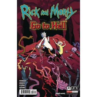 Rick And Morty Go To Hell #3 Cover A Regular Constanza Oroza Cover