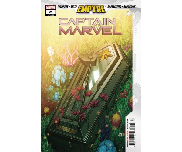 Captain Marvel Vol 9 #21 Cover A Regular Jorge Molina Cover (Empyre Tie-In)