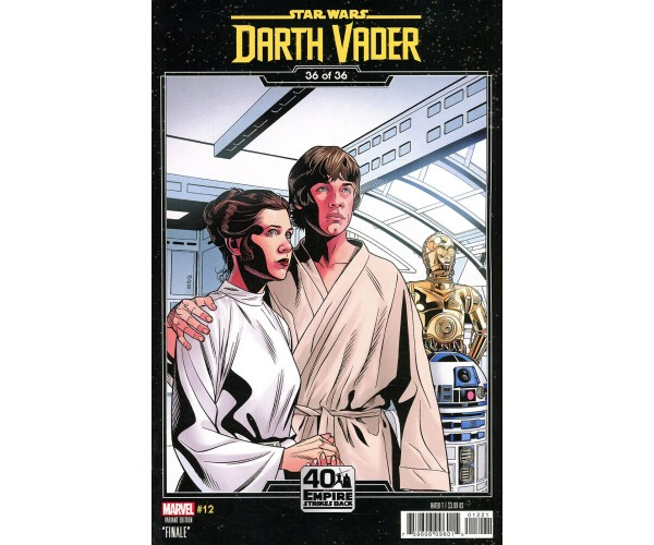 Star Wars Darth Vader #12 Cover B Variant Chris Sprouse Empire Strikes Back Cover (War Of The Bounty Hunters Prelude)