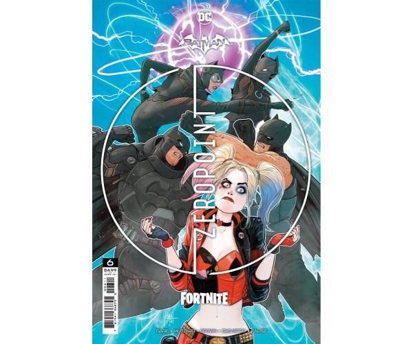 Batman Fortnite Zero Point #6 Cover A Regular Mikel Janin Cover