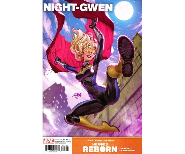 Heroes Reborn Night-Gwen #1 (One Shot) Cover A Regular David Nakayama Cove