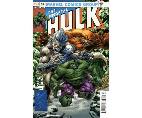 Immortal Hulk #48 Cover C Variant Joe Bennett Homage Cover