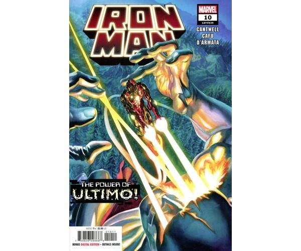 Iron Man Vol 6 #10 Cover A Regular Alex Ross Cover