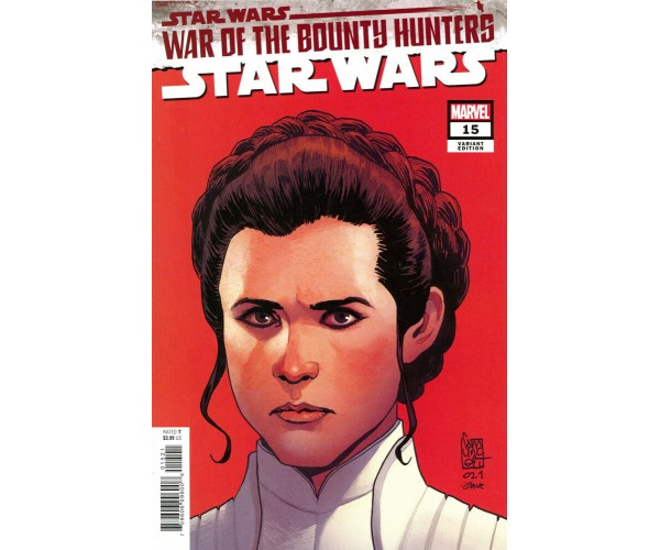 Star Wars Vol 5 #15 Cover B Variant Giuseppe Camuncoli Headshot Cover (War Of The Bounty Hunters Tie-In)