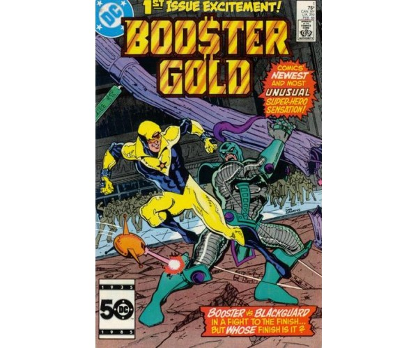 """Booster Gold Vol.1 #1 """"1st Appearance of Booster Gold"""""""