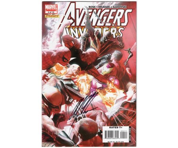 Avengers Invaders #4 Regular Alex Ross Cover