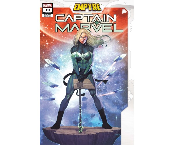 Captain Marvel #19 OLIVETTI EMPYRE VAR EMP