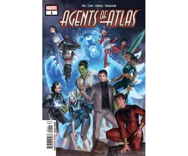 Agents Of Atlas Vol 3 #1 Cover A Regular Jung-Geunyoon Cover