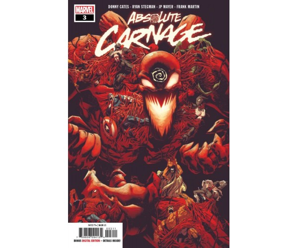 Absolute Carnage #3 Cover A Regular Ryan Stegman Cover
