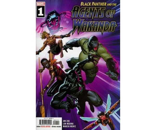 Black Panther And The Agents Of Wakanda #1 Cover A Regular Jorge Molina Cover