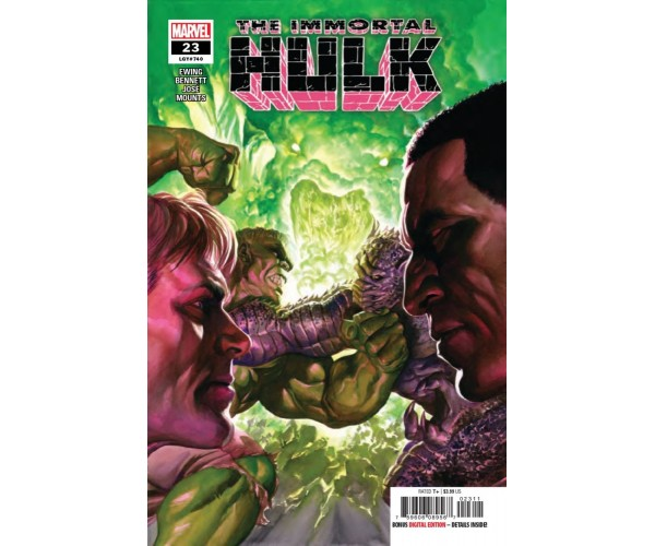Immortal Hulk #23 Cover A Regular Alex Ross Cover