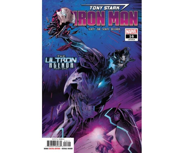 Tony Stark Iron Man #16